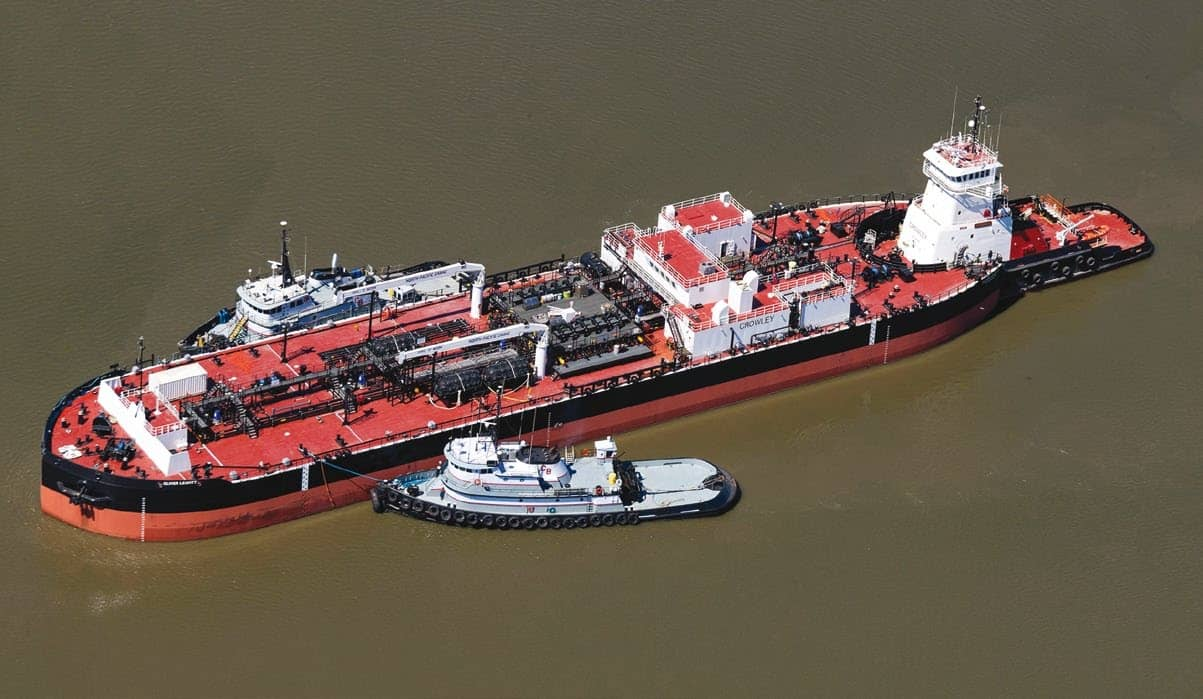 Crowley's rugged ice-class ATB built to withstand Alaska's harsh climate