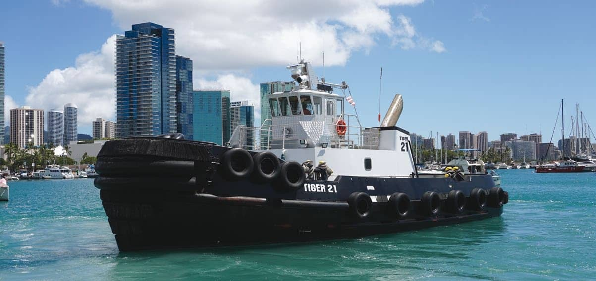 Nimbler next-gen Tiger tugs keep Hawaiian commerce moving