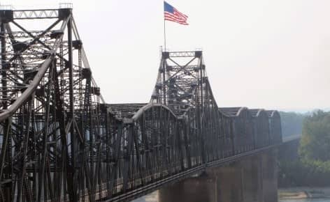 High water in Vicksburg: Another bridge strike, another breakaway