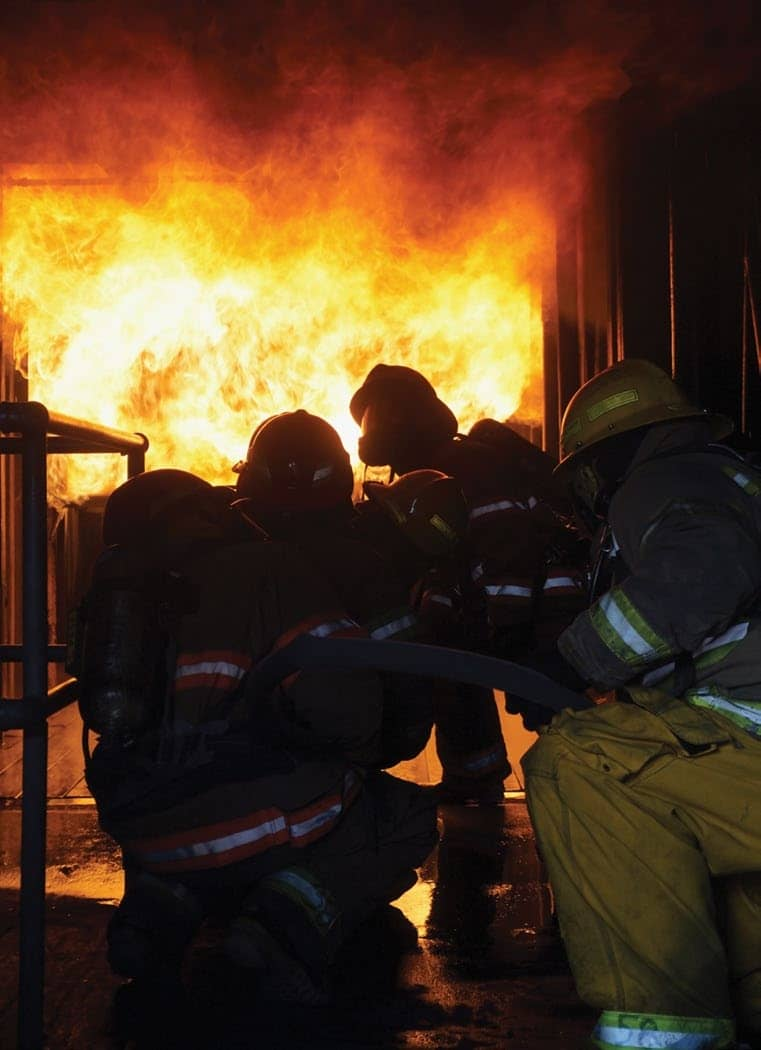 Latest training melds new technology, proven tactics in fight against fire