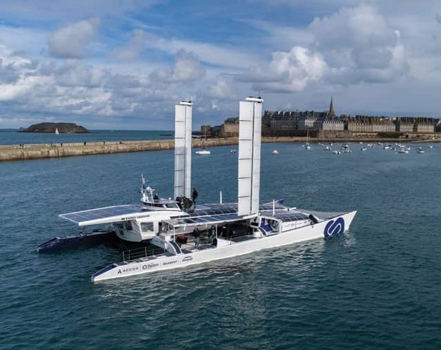 Wind ships ahead: Technology pulling more power from sails