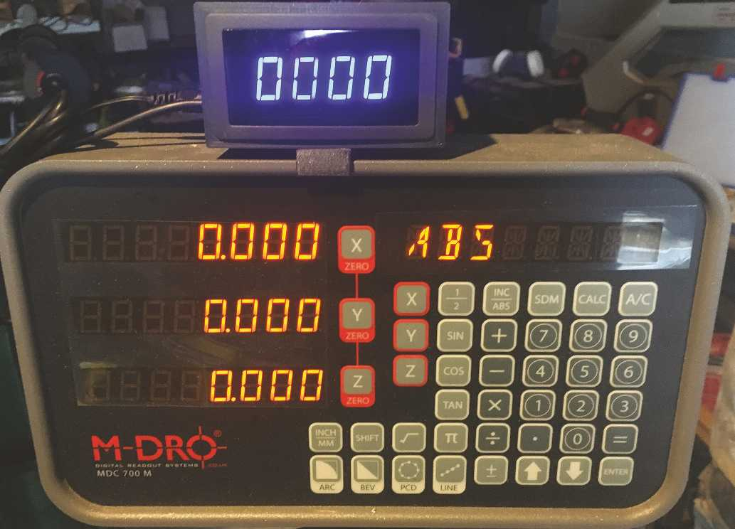 Mill RPM Display