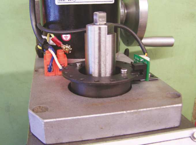 WM16 Mill Spindle Hold