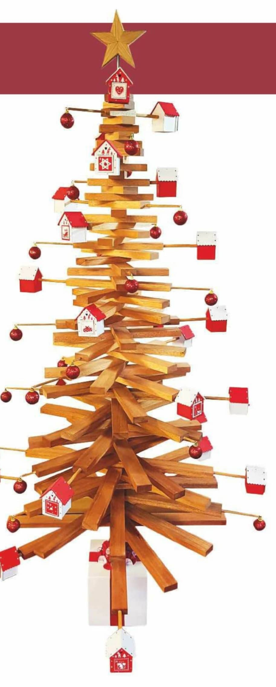 Swivelling Advent Christmas Tree
