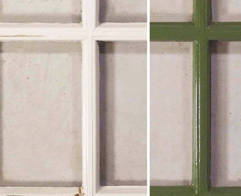 RESTORE AN OLD WINDOW FRAME STEP-BY-STEP