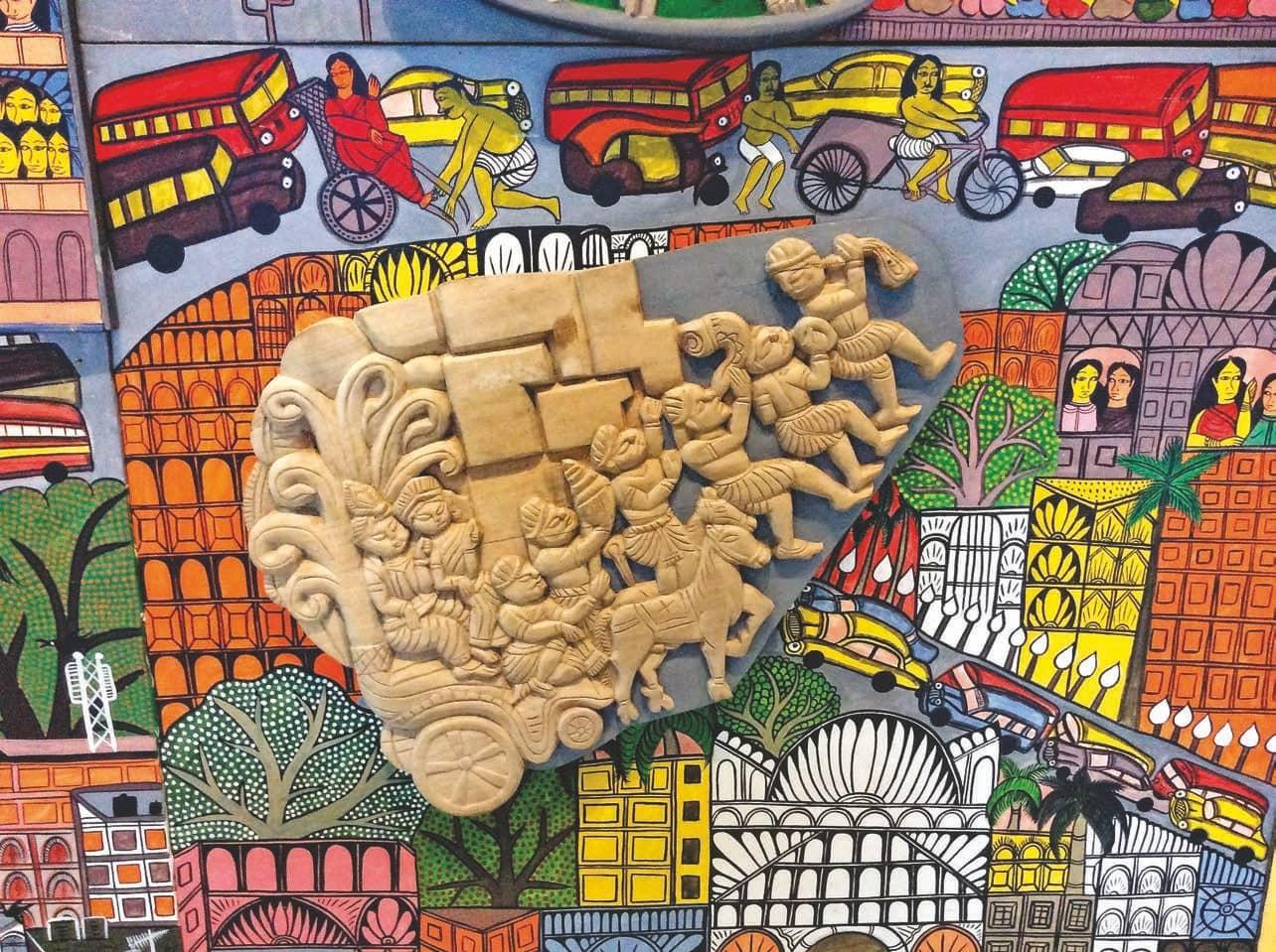 Indian Aesthetics Museum In Transit