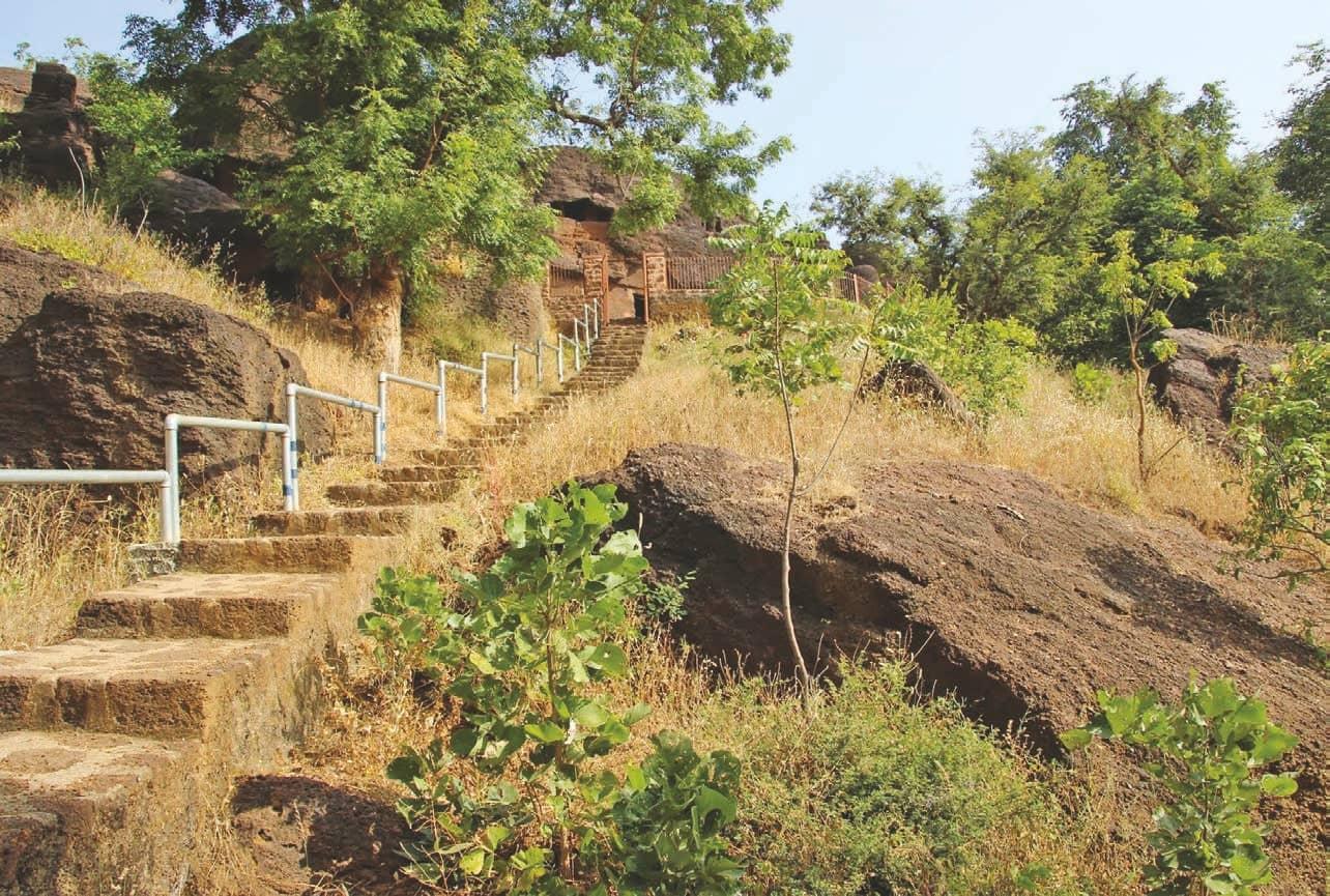 Indian Aesthetics - The Rock-Cut Caves Of Kolvi In Rajasthan