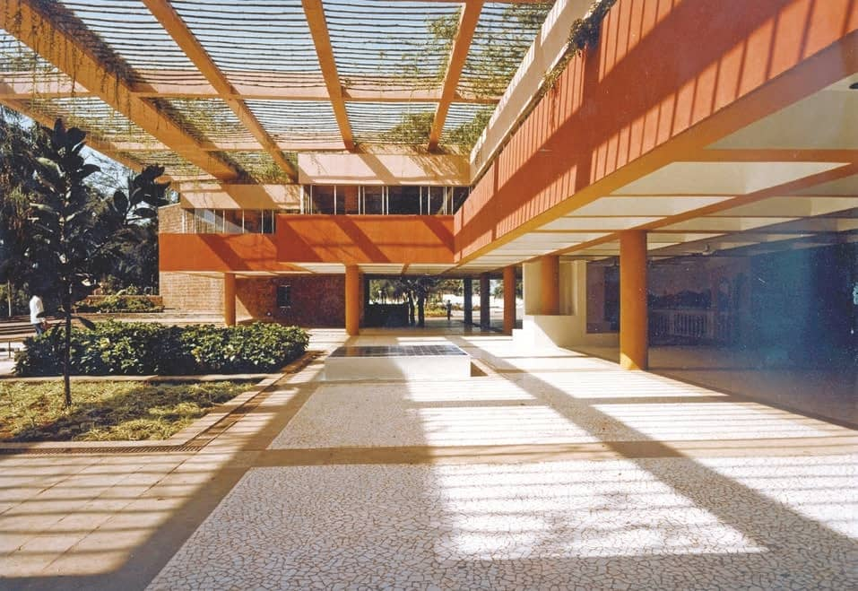 On Charles Correa's Kala Academy
