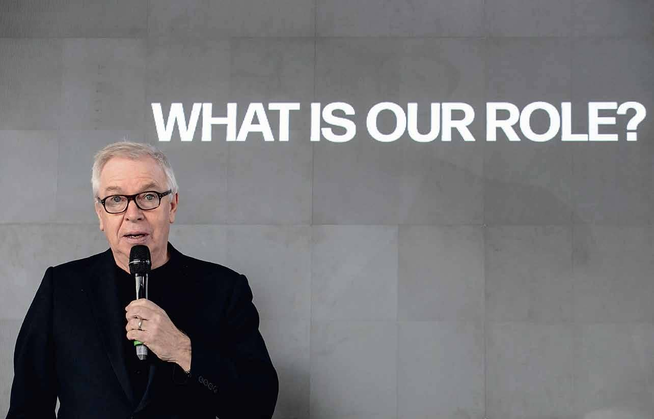 Welcome David Chipperfield