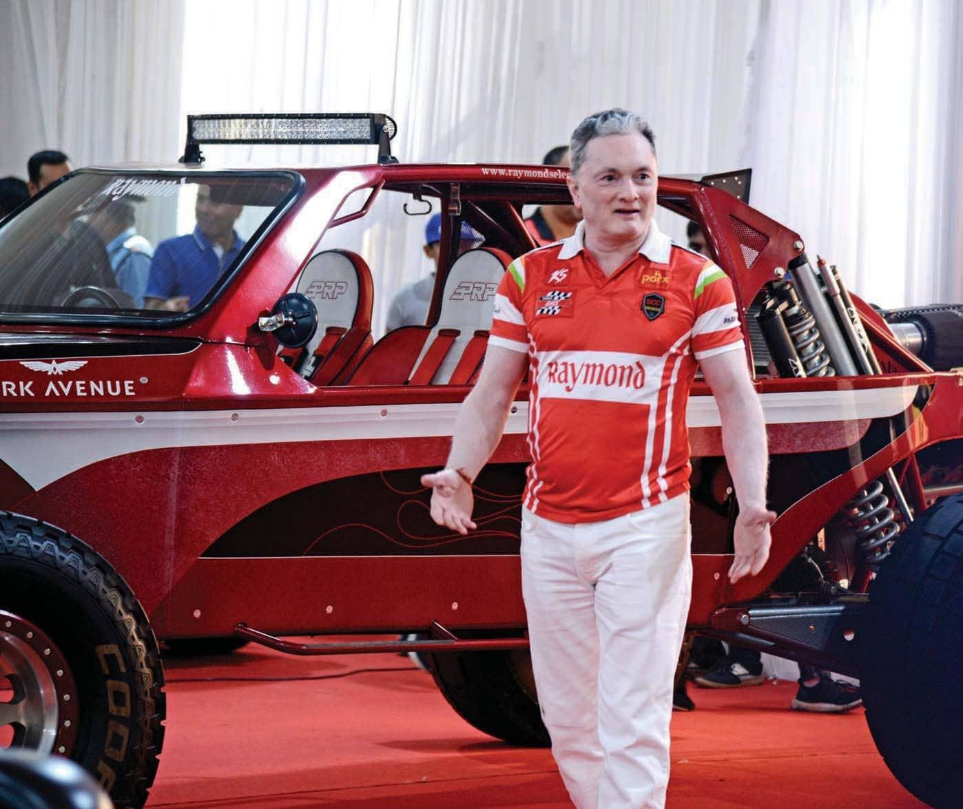 Gautam Hari Singhania on Super Cars