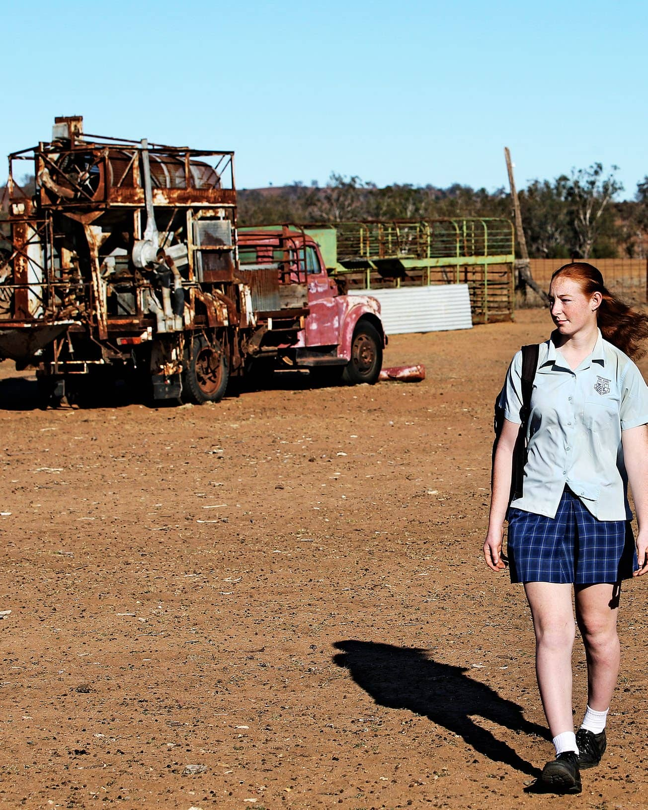 'I'll Quit School To Save Our Farm!'