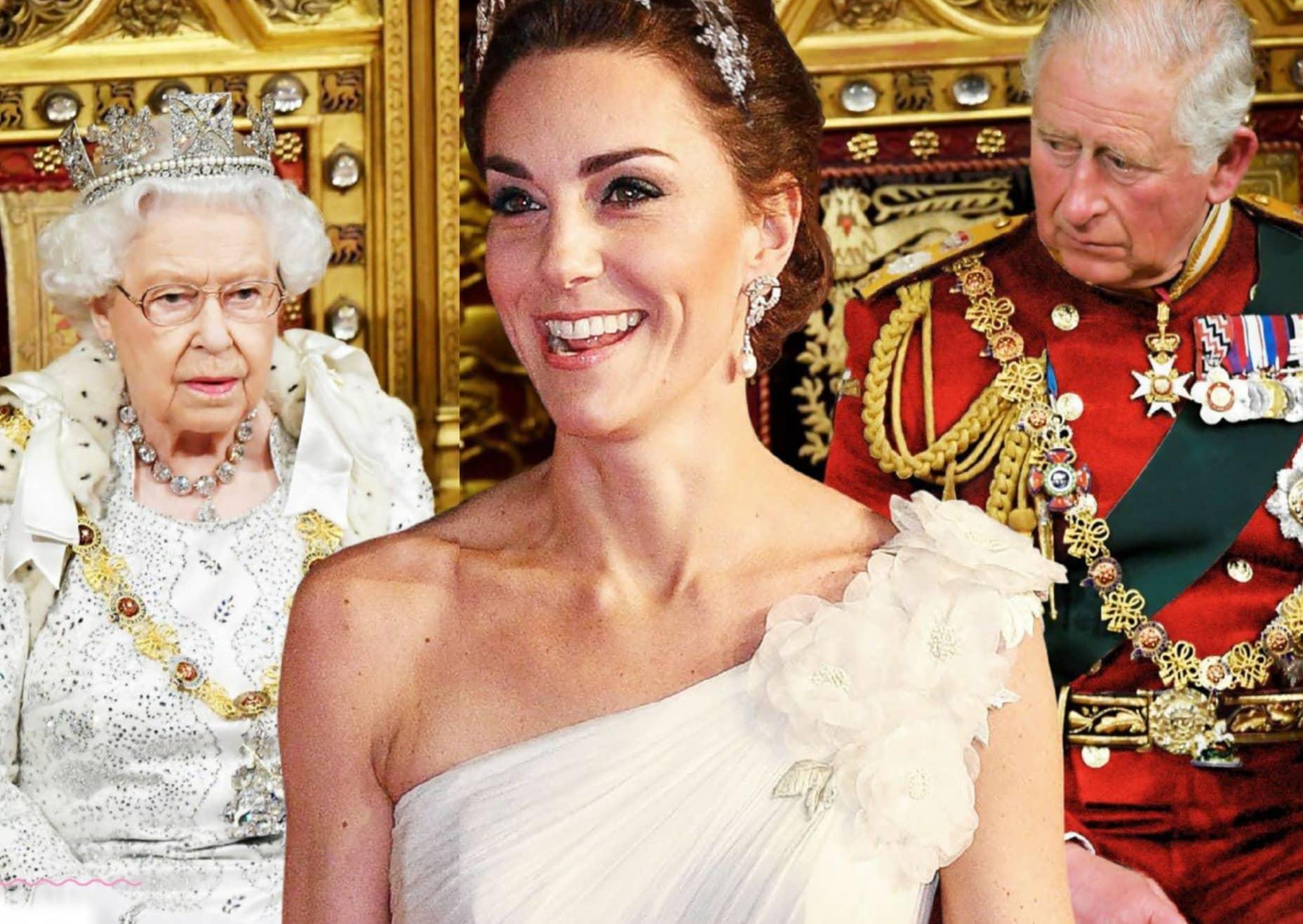 Kate Takes The Throne!