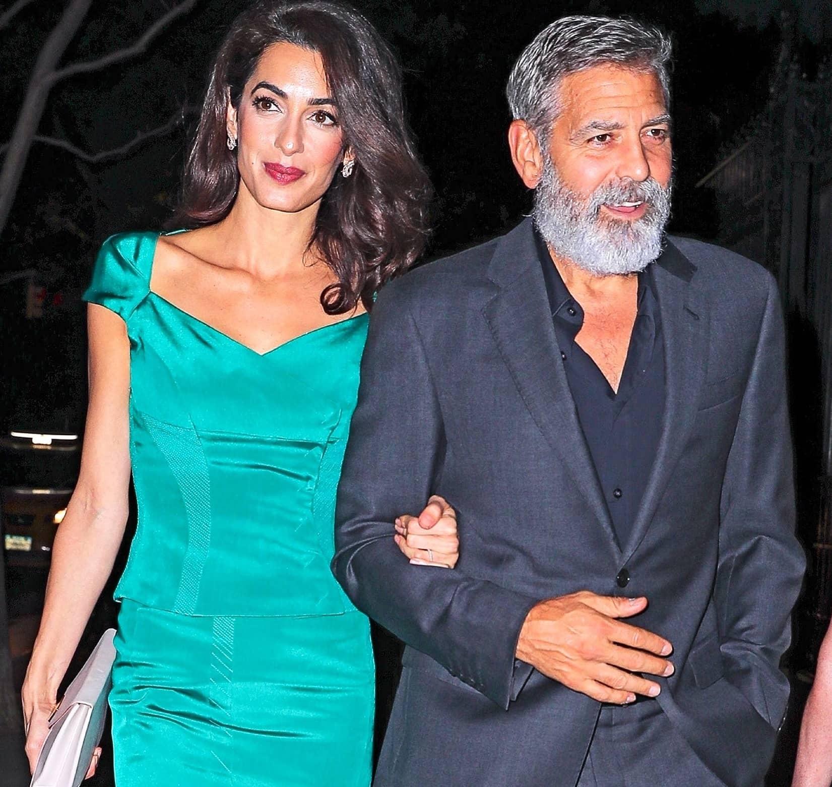 George & Amal Separate Lives