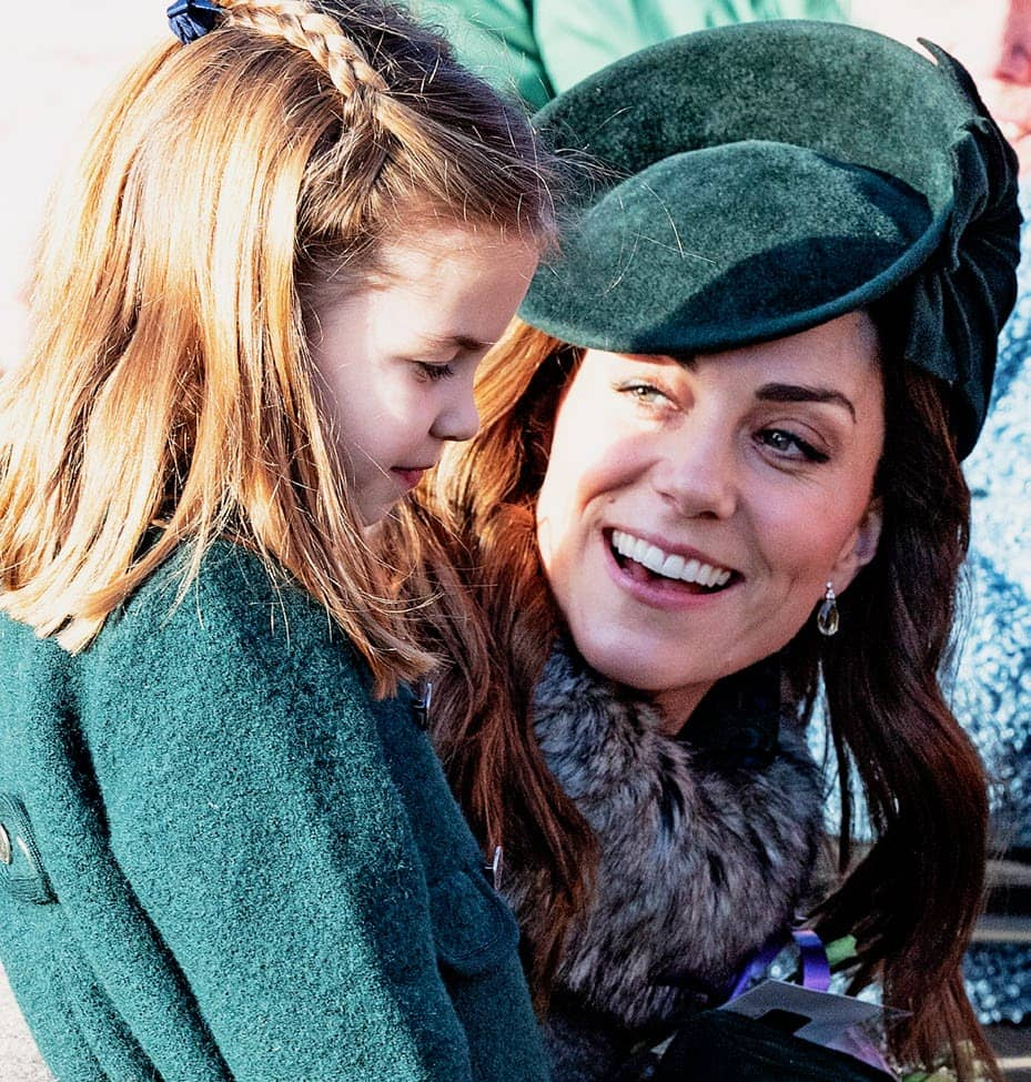 Charlotte Tells Kate 'I Want To Be A Queen'