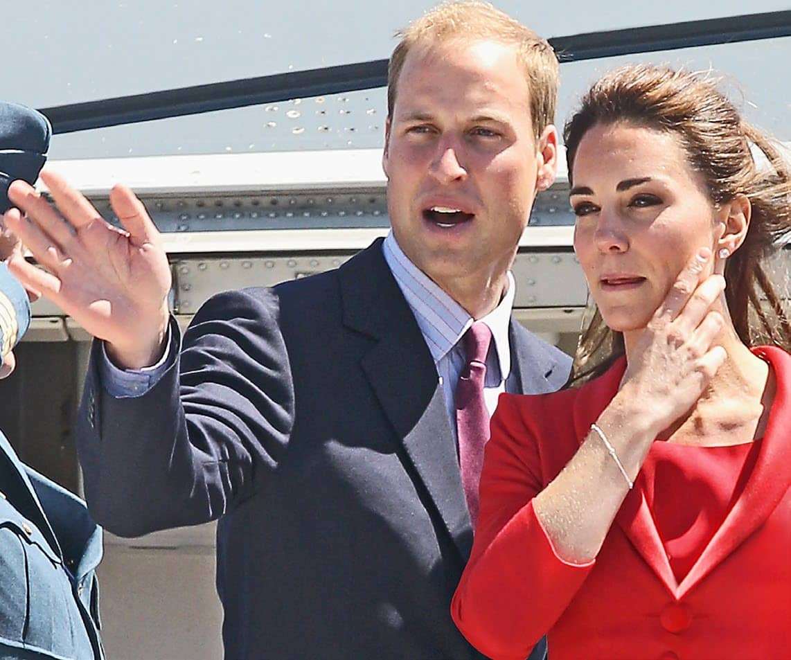 Kate & William's Showdown In Los Angeles!