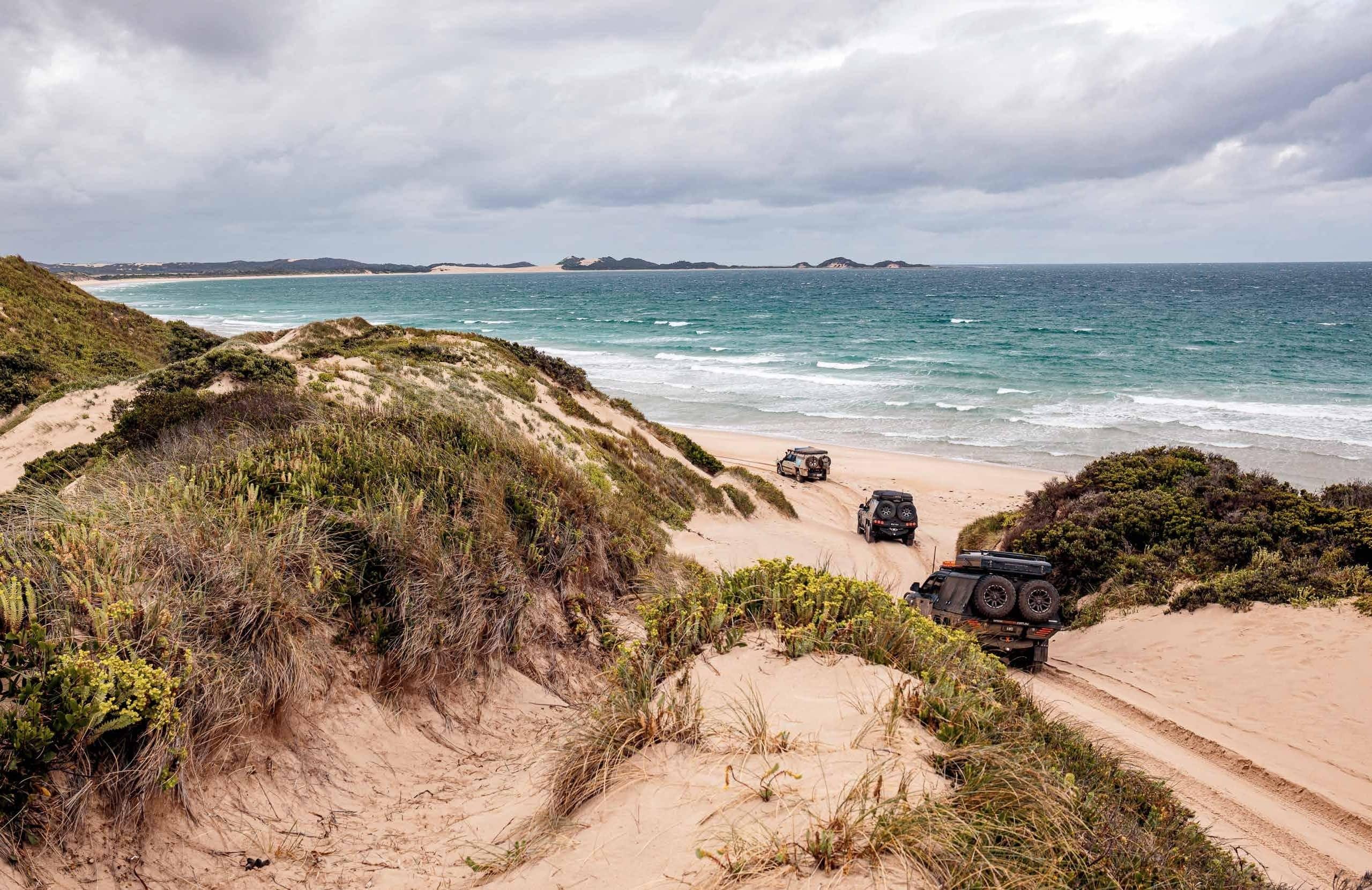Beaches And Rugged Cliffs