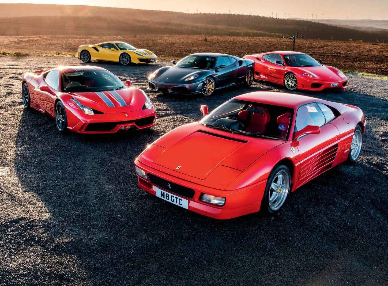 Ferrari V8S - Bloodlines