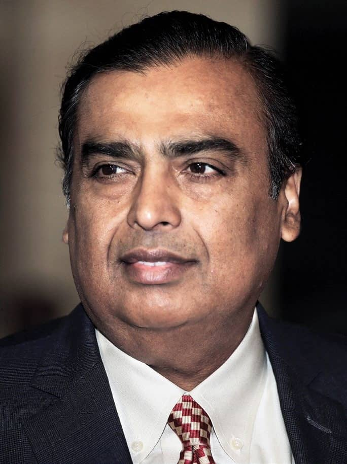 Ambani Cashes In