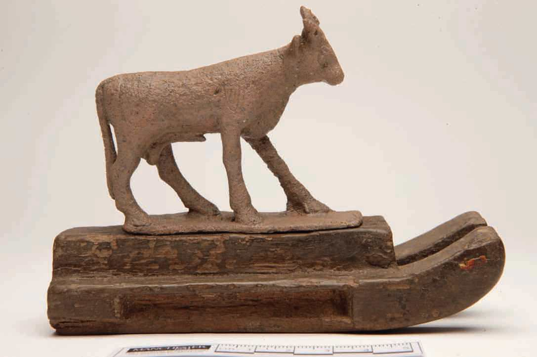Highlights Of Manchester Museum, No. 7: A Bronze Statue Of The Apis Bull