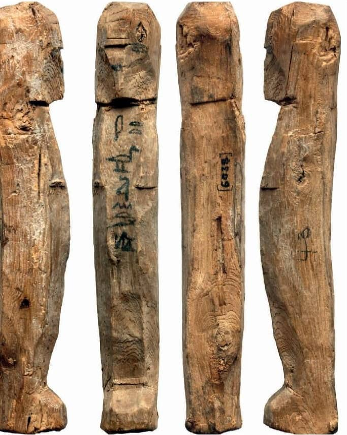 Highlights of the Manchester Museum 24: A 'Stick Shabti ' of Teti-sa-intef (Acc. No. 6038)