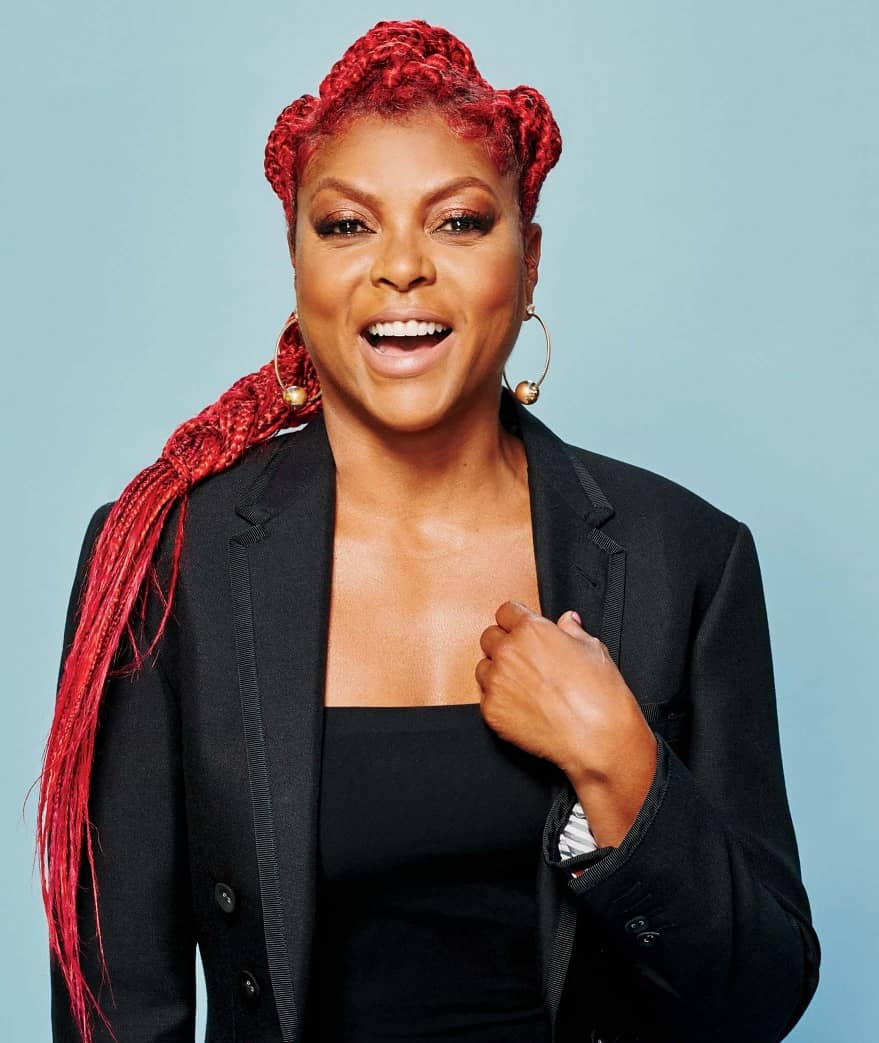 """TARAJI P. HENSON """" MY 'WHY' WAS GREATER THAN THE FEAR"""""""