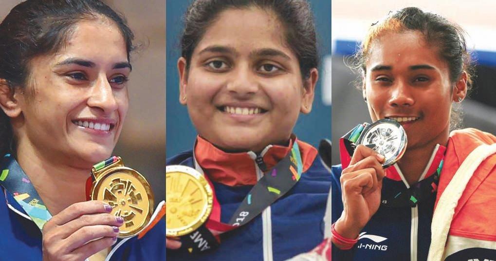 Indian Women Stars at 2018 Asian Games