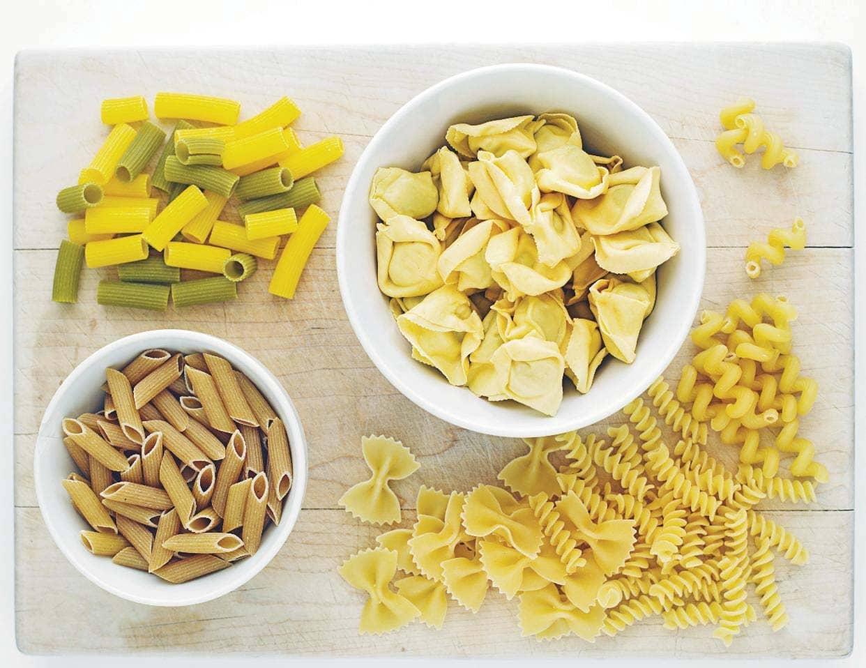 Toss & serve pasta salads