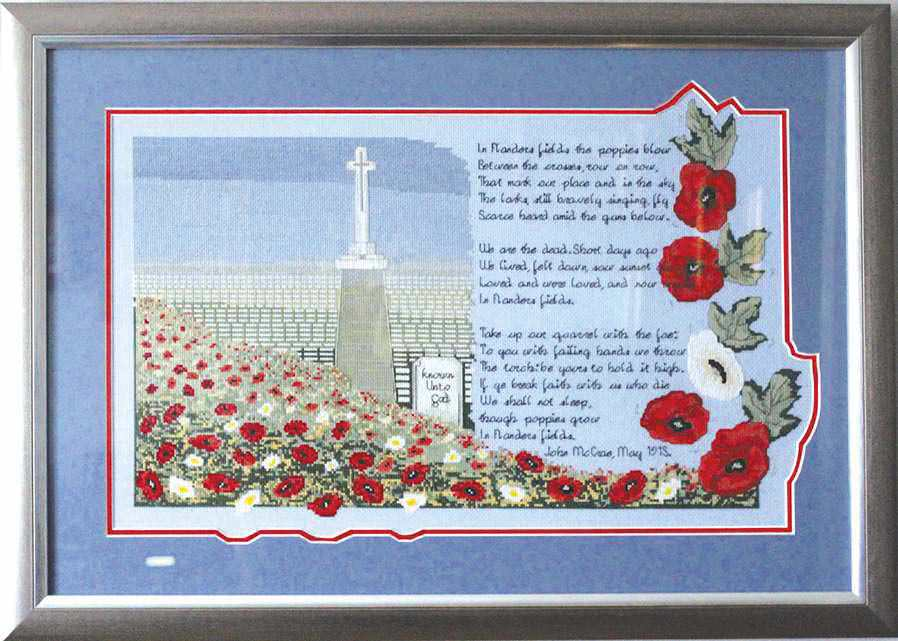 Stitching Where The Poppies Blow