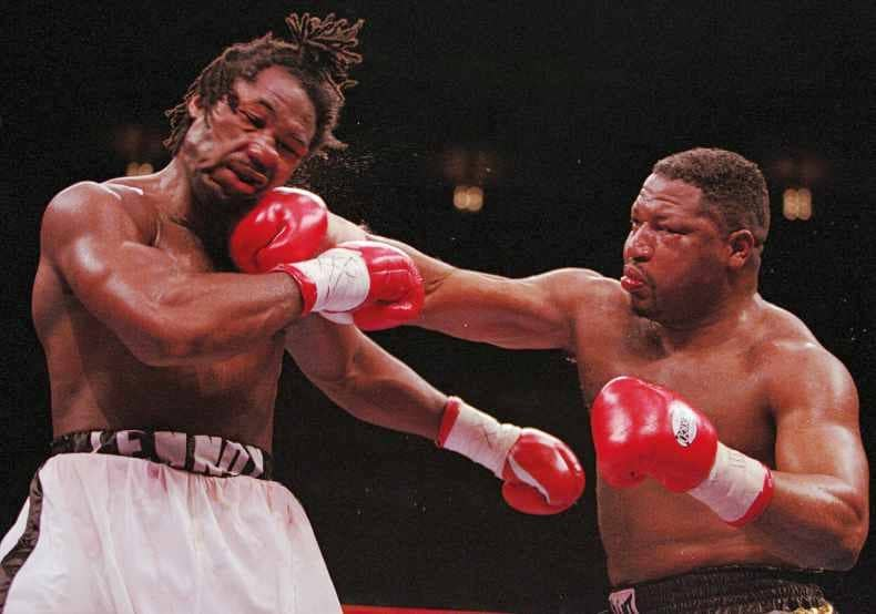 When Lennox Lewis Came To Madison Square Garden