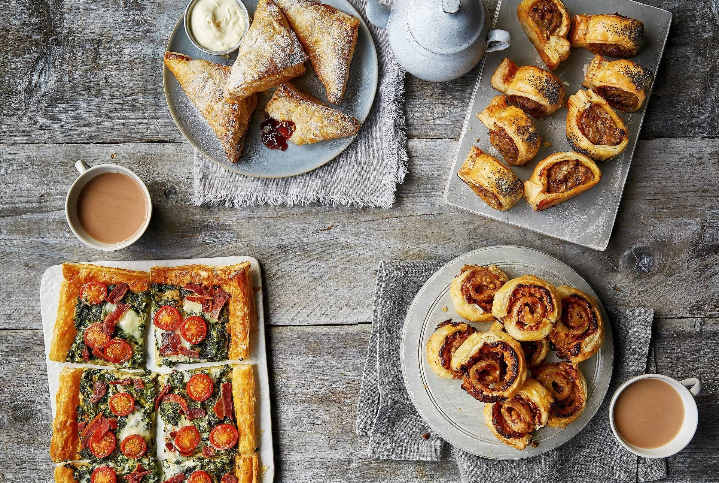 4 Ways With A Sheet Of Puff Pastry