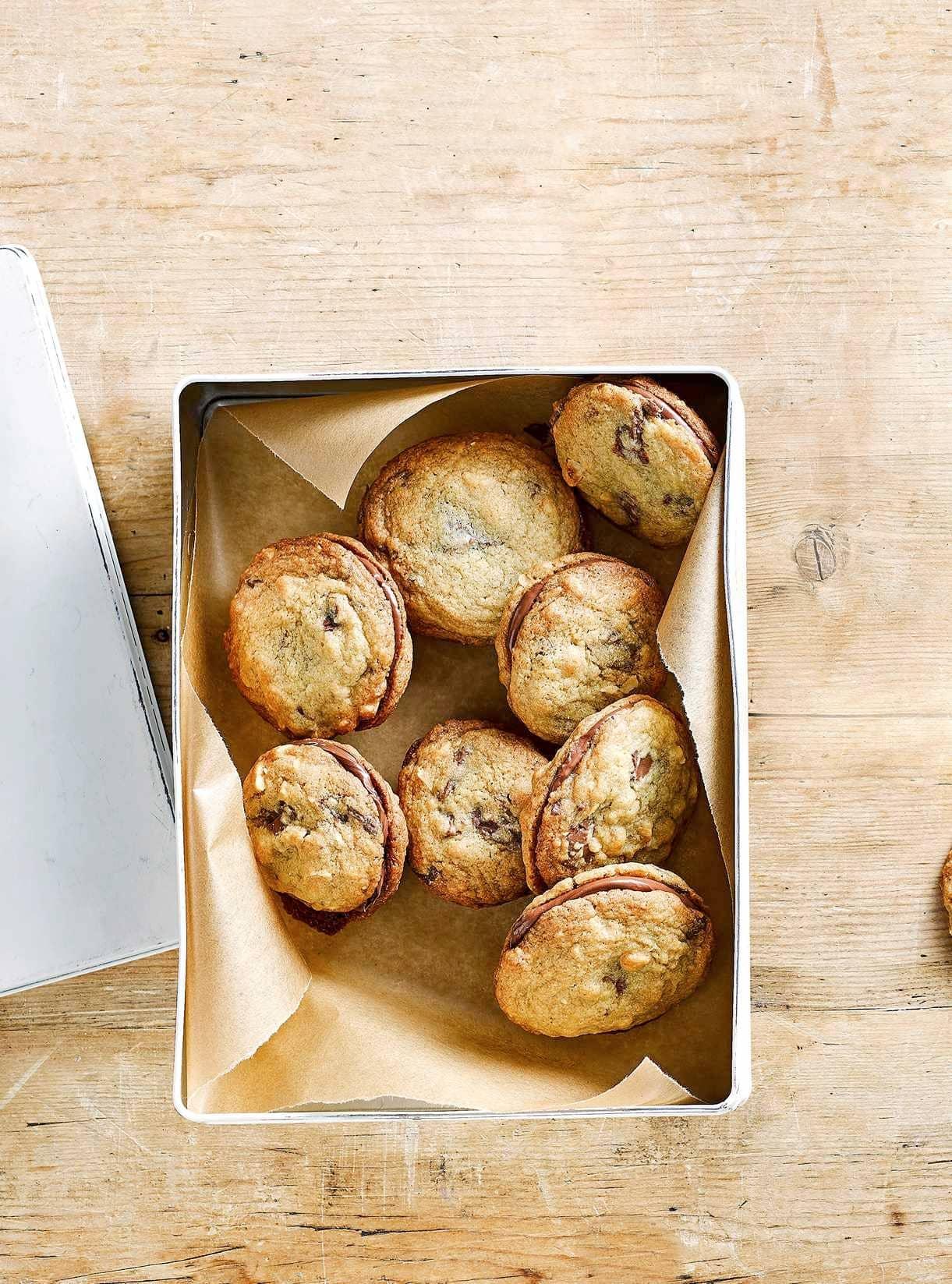 Stuffed Cookie Sandwiches