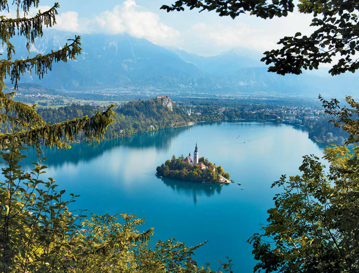 Sneak Peek Into the Sunny Side Of Alps at Slovenia