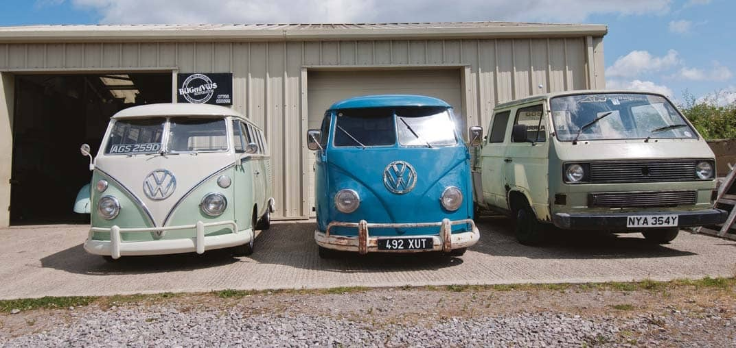 Behind the scenes: BUGerd VWs Restoration