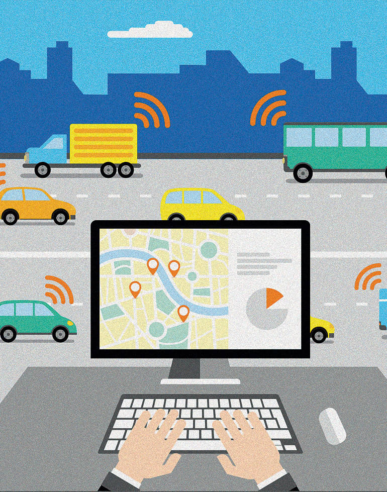 HOW IoT IS MAKING: TRANSPORTATION INDUSTRY SMARTER