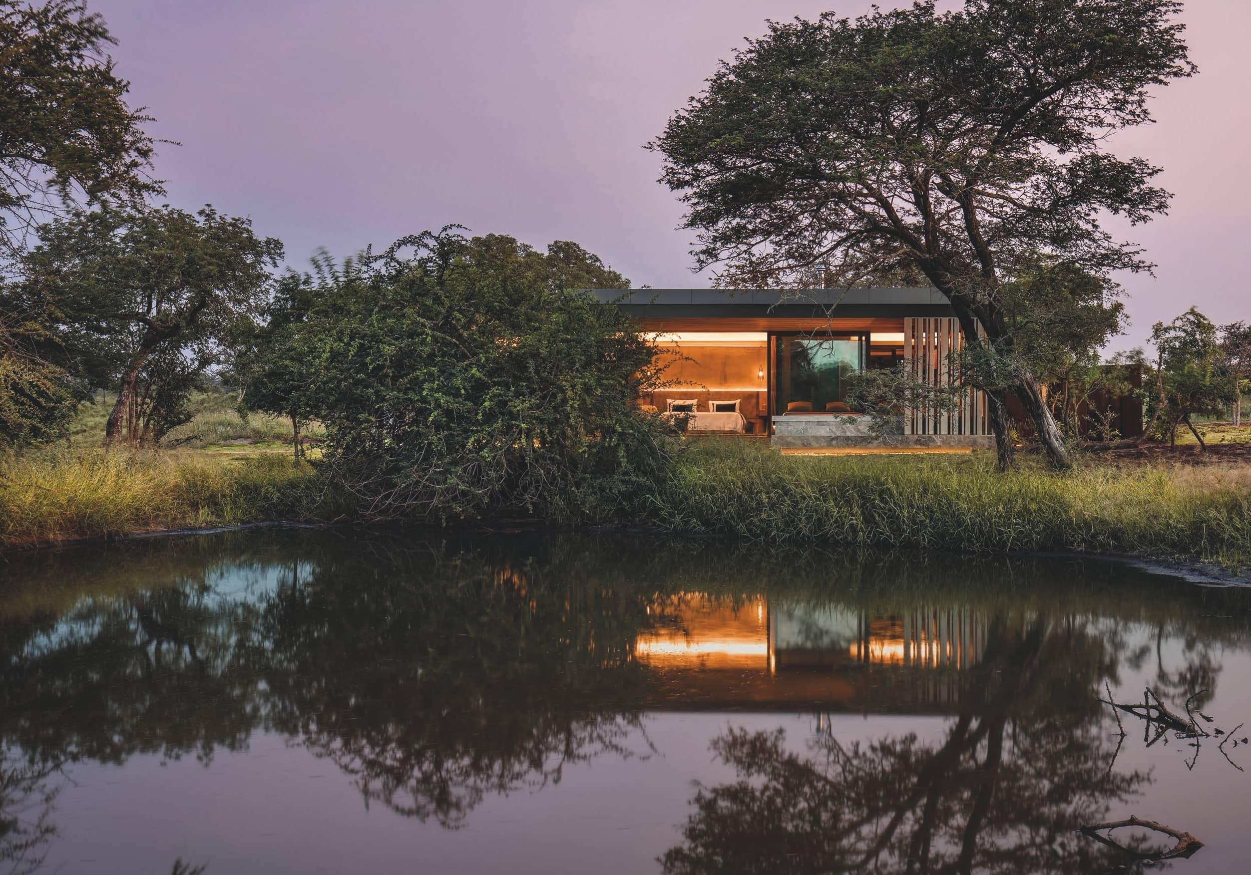 Reinventing traditional safari-style architecture