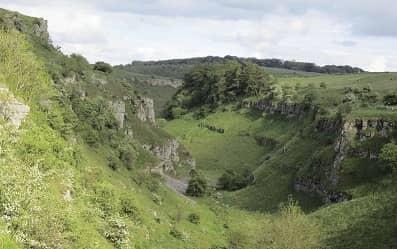 County walk Lathkill Dale