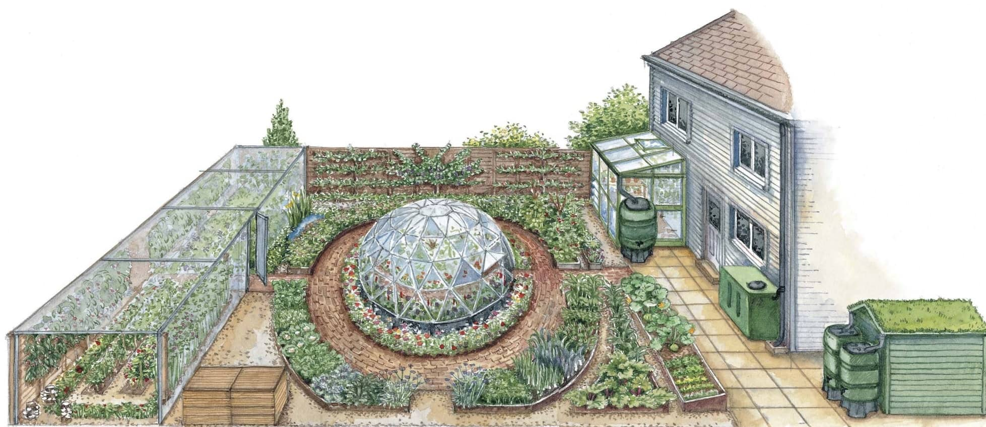 Eco-Fitting Your Garden