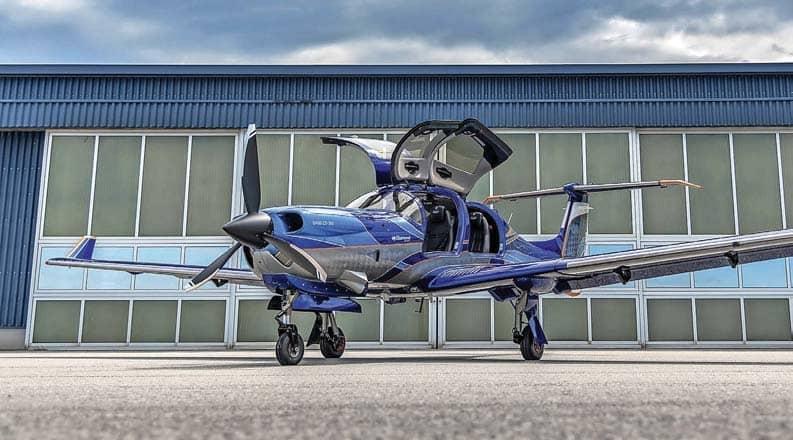 Diamond Aircraft launches DA50 RG