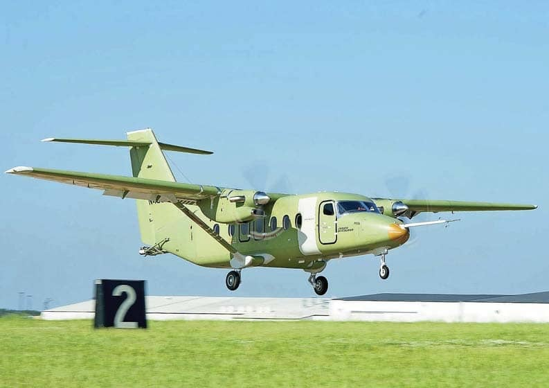Cessna SkyCourier twin makes its maiden flight