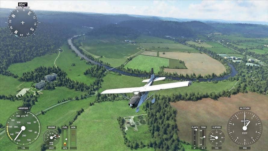 Microsoft's Eagerly Awaited Flight Simulator