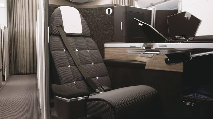 The New British Airways Club Suite