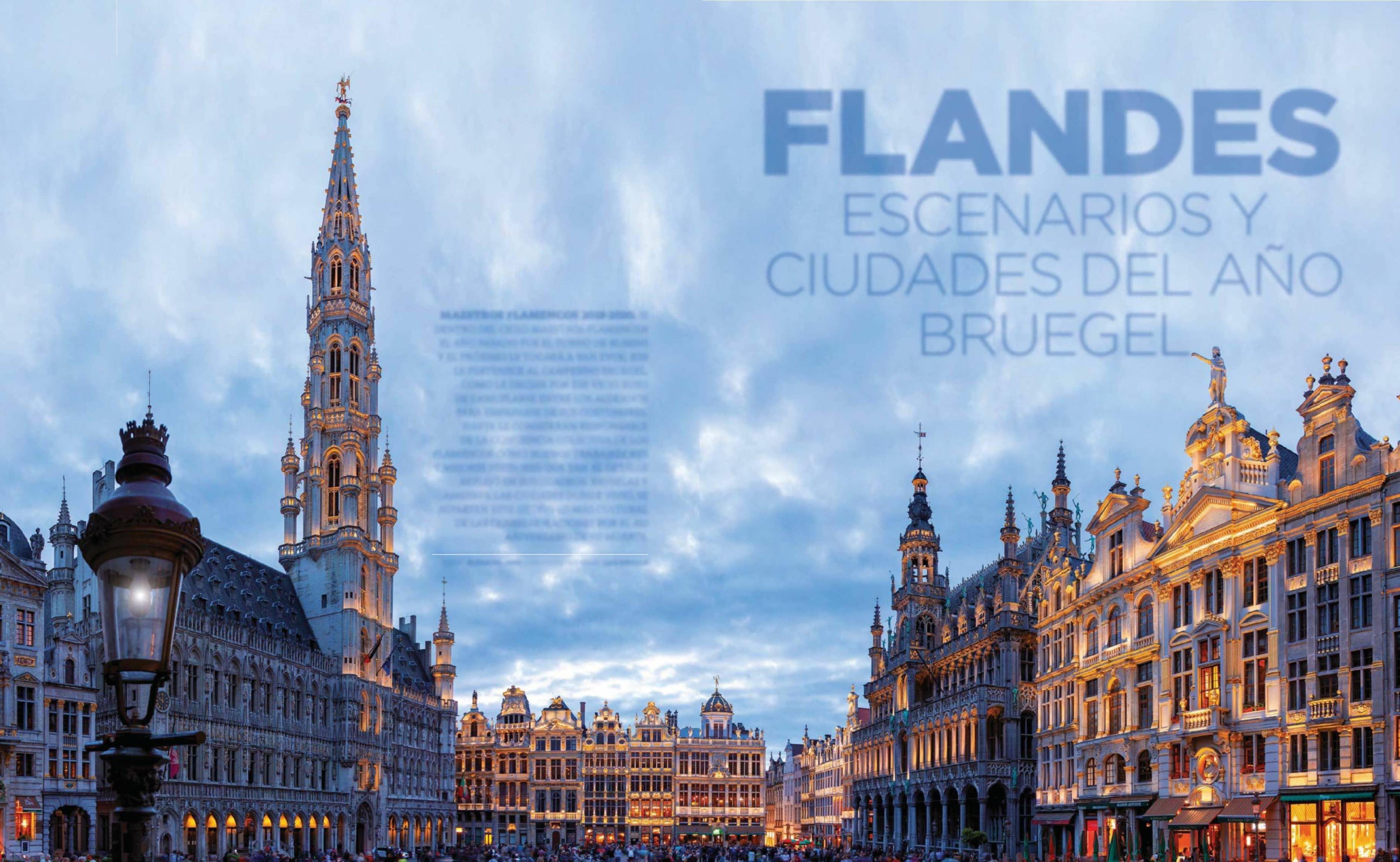 Flandes Escenarios Y Ciudades Del Año Bruegel