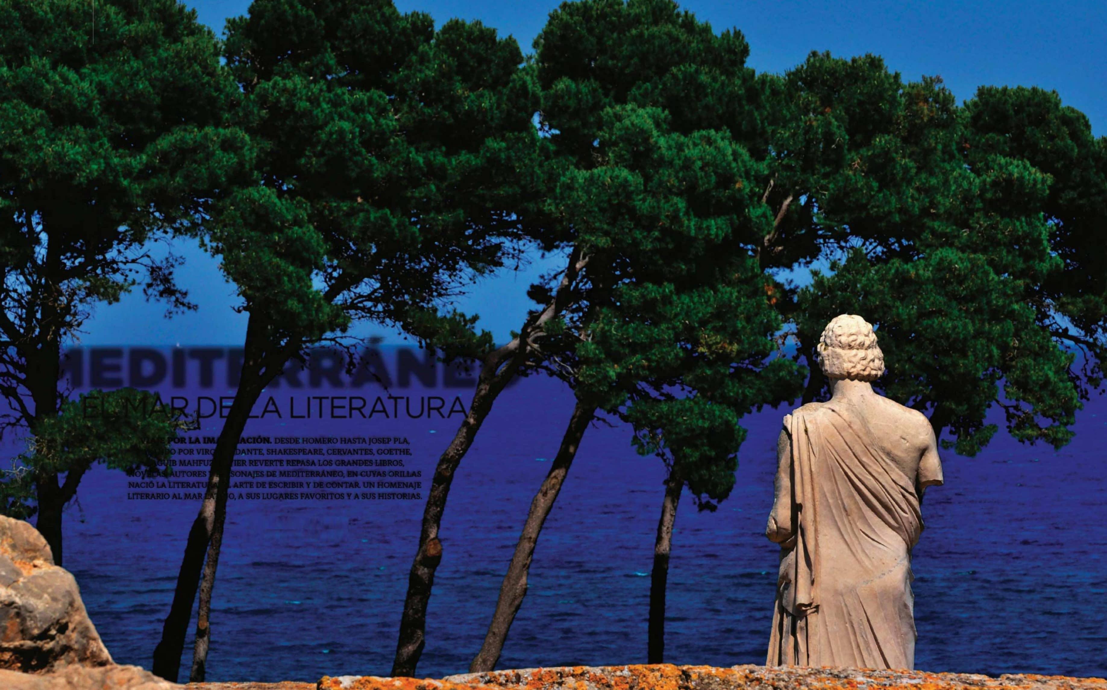 Mediterráneo El Mar De La Literatura
