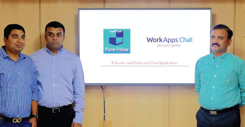 Pune Police Deploys Workapps Chat