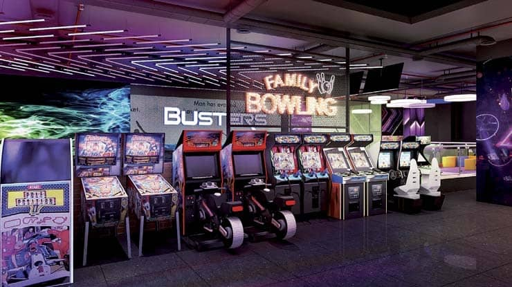 Busters' New Conceptual Center Adds a Fresh Experience to the Gaming World
