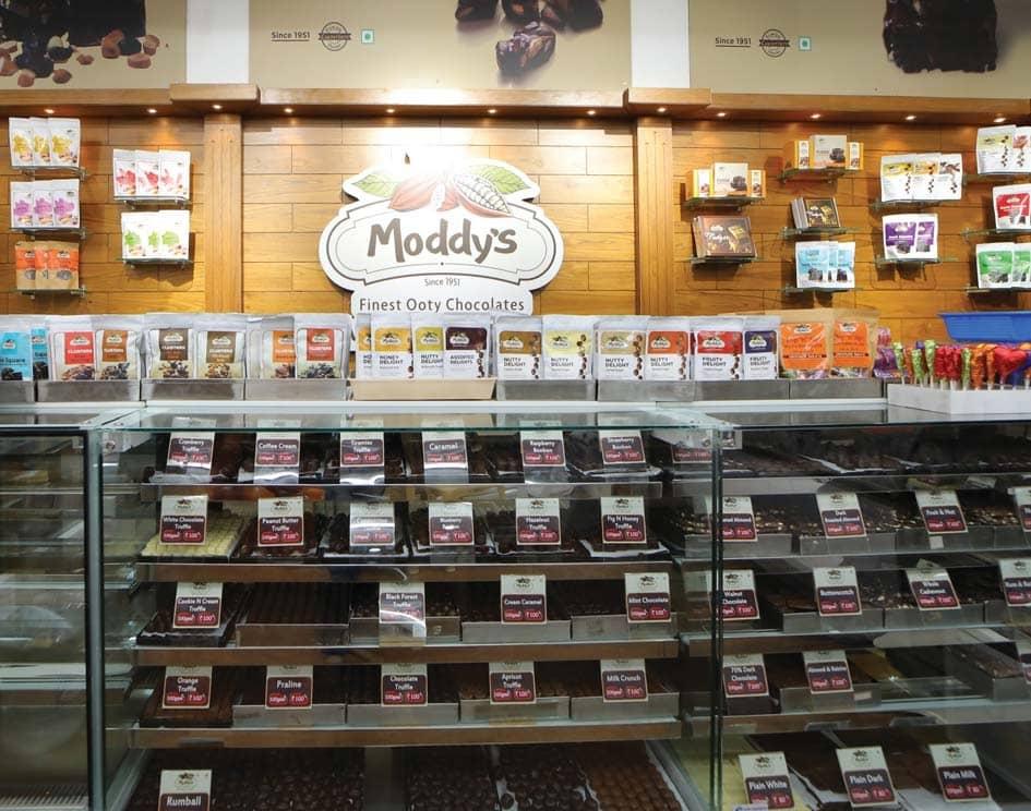 """Moddy's – The Nilgiris' Emblematic Chocolate Retailer"""