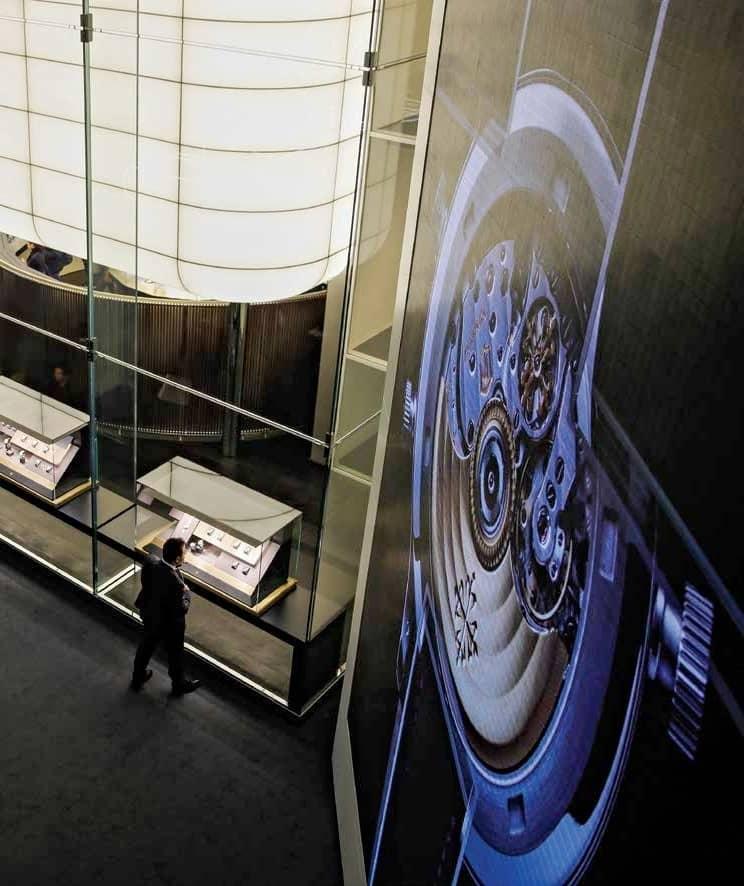 Rethinking luxury watch fairs