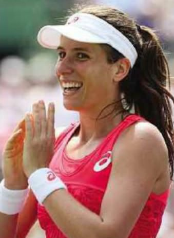 Tennis: Konta hits new heights