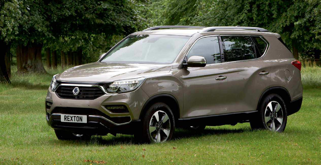 Ssangyong Lifts Lid On New Rexton