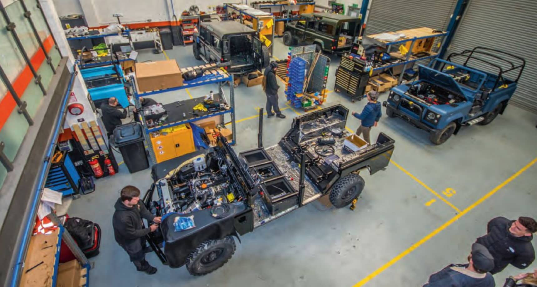 Land Rover restorer Arkonik to expand with reintroduction into UK market – and project to develop fully electric Defender